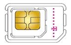 Micro SIM Karte von T-Mobile