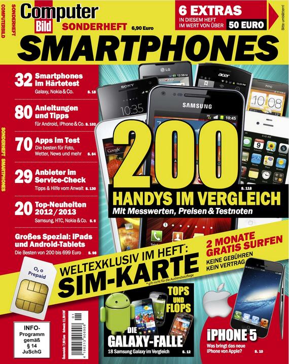 COMPUTER BILD Sonderheft Smartphones