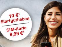 Aystar: Prepaid-Karte mit 10 € Guthaben