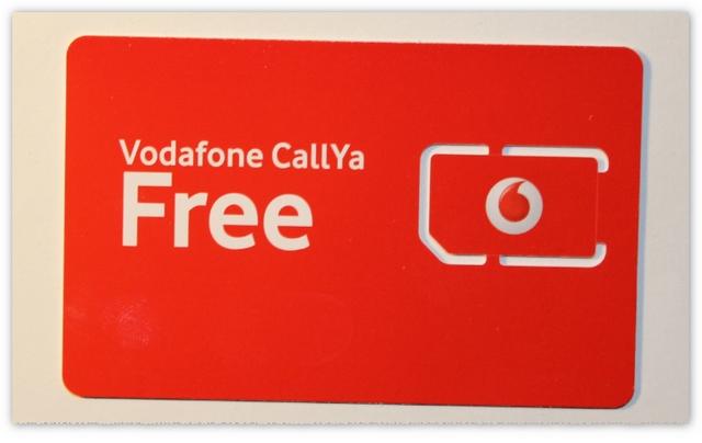 Vodafone CallYa Freikarte
