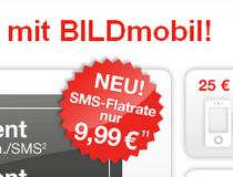 BILD mobil mit neuer SMS-Flatrate für 9,99 €