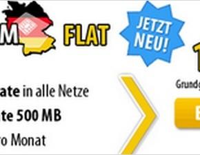 DeutschlandSIM Flat mit Yourfone-Konter