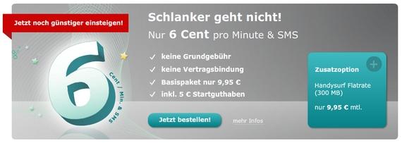 Hellomobil-Startpaket 5 € günstiger: nur noch 9,95 € inkl. 5 € Startguthaben