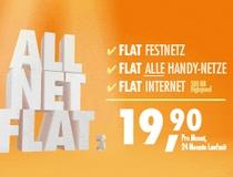 Simyo Allnet Flat für monatlich 19,90 € (24-Monats-Vertrag) im Mai ohne Anschlussgebühr