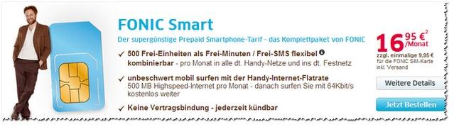 FONIC Smart Preissenkung