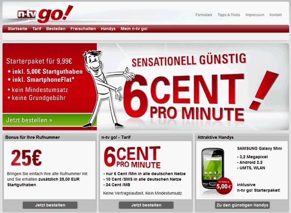 n-tv go! mit neuer Website