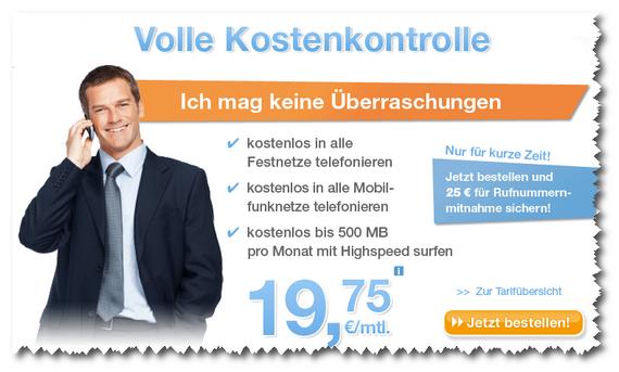 Simply Yourflat für monatlich 19,75 €