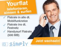 Simply Allnet-Flatrae
