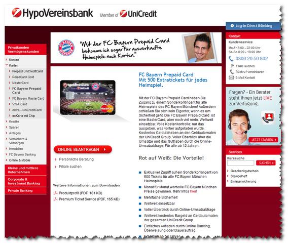 FC Bayern Prepaid Card
