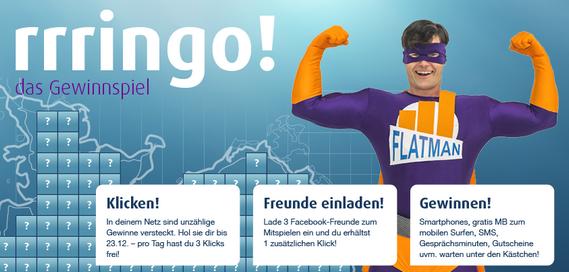 rrringo!: Neues Facebook-Gewinnspiel vom Netzclub