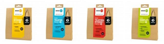 BASE GO: Die 4 neuen Tarifpakete im Überblick (Bildquelle: E-Plus/BASE)