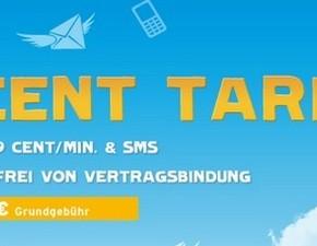 blau.de: Prepaid-Karte mit 10 € Startguthaben bis 31.01.2013
