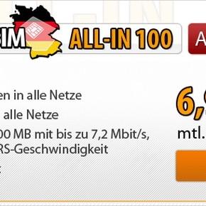 Deutschland SIM im D2-Netz