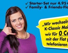 K-Classic Mobil: Startpaket kurze Zeit für 4,95 €