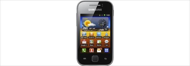 Samsung Galaxy Y im EURONICS-Tagesdeal für 77 €
