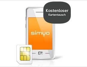 simyo: Kostenloser Kartentausch von SIM zu Micro-SIM oder Nano-SIM