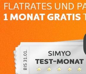 Simyo: Test-Monat-Aktion bis 31. Januar 2013 verlängert