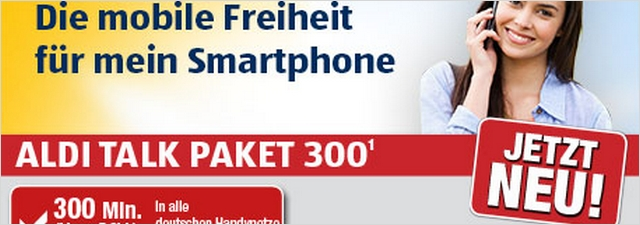 ALDI TALK Paket 300