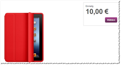 Apple Smart Case in Rot im Vodafone-Shop