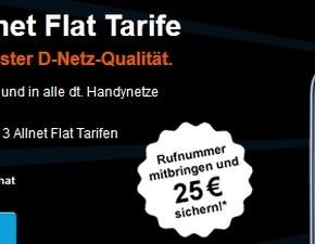 Congstar Allnet-Flat-Tarife neu ab 05.02.2013