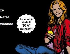 Congstar Smart 100 mit 30 € Facebook-Vorteil