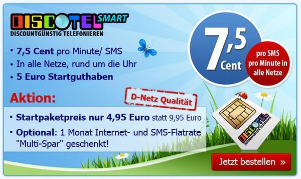 discoTEL SMART 5 € günstiger