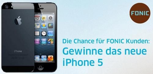 Im Februar 2013 als FONIC-Kunde ein iPhone 5 gewinnen