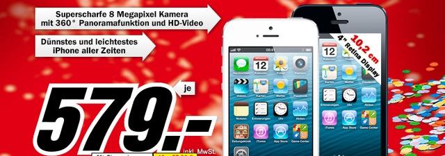 iPhone 5 für 579 €