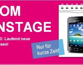 Telekom-Aktionstage mit Prepaid-Handy-Aktion
