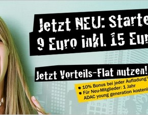 ADAC young & mobile startet am 01.03.2013