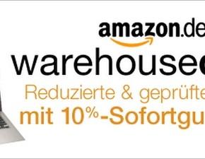 Amazon Warehousdeals mit 10% Gutschein