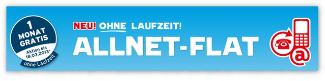 blau.de: Allnet-Flat ohne Laufzeit
