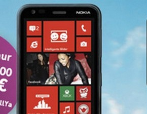 CallYa Weekend Special: Nokia Lumia 620 für 179 €