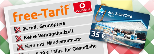 Crash-Tarife mit 35 € Tankgutschein kostenlos
