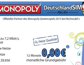 DeutschlandSIM: Monopoly-Tarif ALL-IN Smart