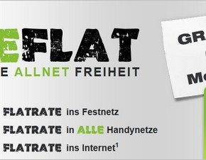 freenetmobile freeFLAT: 6 Monate gratis