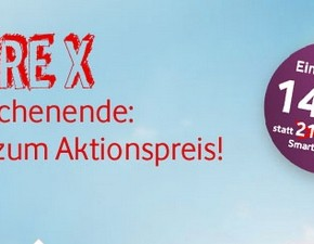 HTC Desire X inkl. CallYa Smartphone Fun S für 149 €