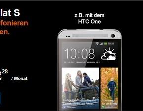 HTC One inkl. Congstar Allnet-Flat für 599 €