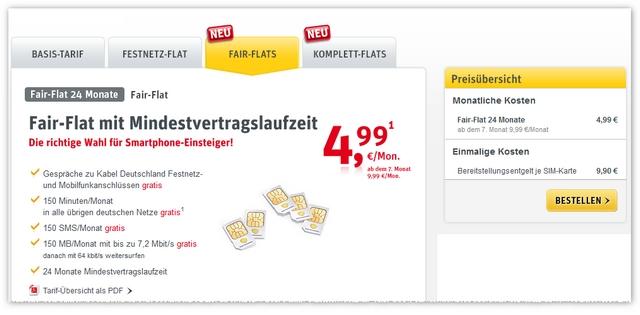 Kabel Deutschland Fair-Flat