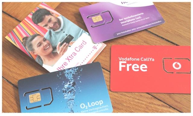 Kostenlose Prepaid-SIM-Karten