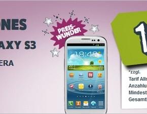 Yourfone Preiswunder: Samsung Galaxy S3 für 331,20 €