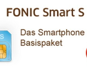 Neuer Smartphone-Tarif FONIC Smart S