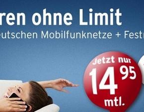 Tchibo Prepaid-Allnet-Flat für 14,95 €