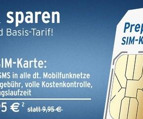 Tchibo Prepaid-Karte für 2,95 €
