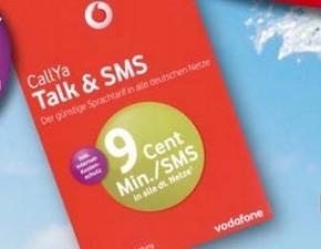 Vodafone CallYa Talk & SMS SIM-Karte in Berlet-Filialen mit 25 € Guthaben