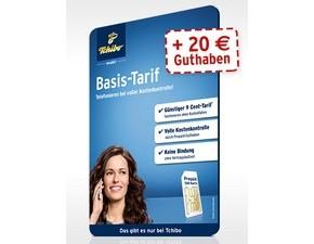 Tchibo mobil Prepaid-Karte mit 20 € Guthaben
