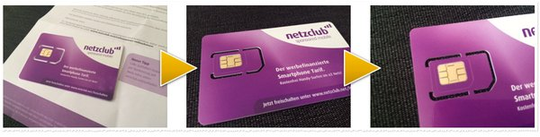 netzclub SIM-Karte testen