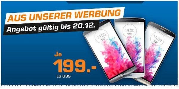 LG G3s als Saturn-Angebot