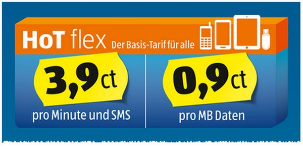 Hofer Telekom HoT Flex