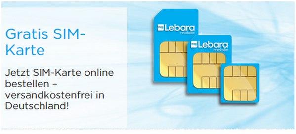 Sim Karte Bestellen.Lebara Sim Karte Kostenlos Bestellen Im Online Shop Prepaid